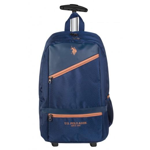 US Polo Assn Trolley Bag 9108 Blue 48.2 cm