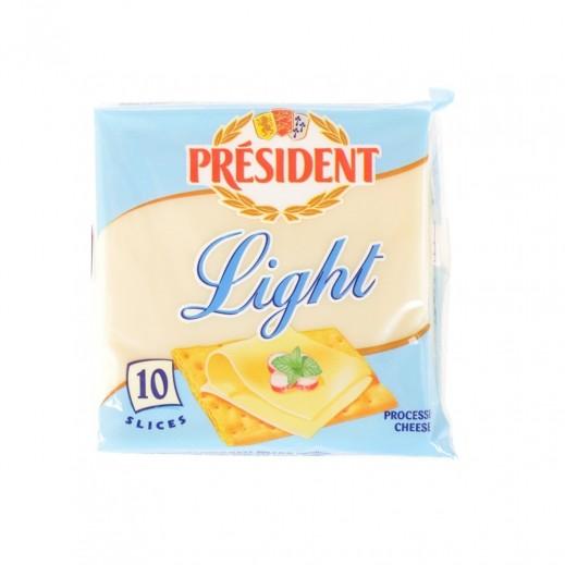 President 10 Slices Light  Cheese 200 g