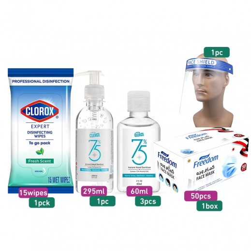Personal Sanitizers Protection Kit of 7