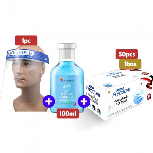 Covid19 Protection Kit of 3