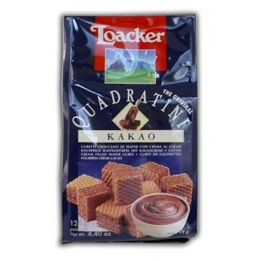 Loacker Quadratini Kakao 125 g