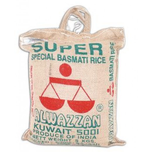 Alwazzan Super Basmati Rice 5 kg