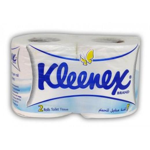Kleenex White Flower 2 Ply Toilet Tissues (2 rolls)