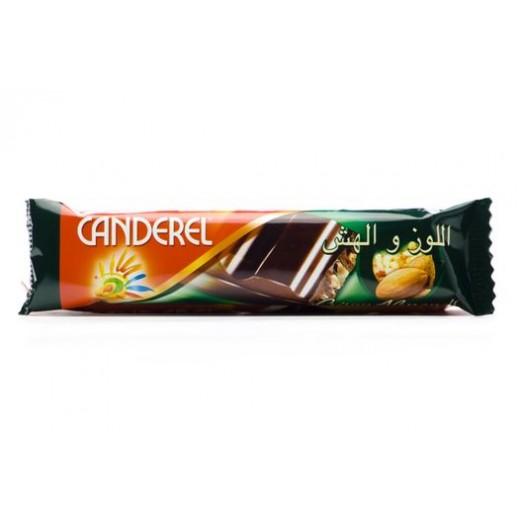 Canderel Milk Chocolate Crispy Almonds and Rice 27 g