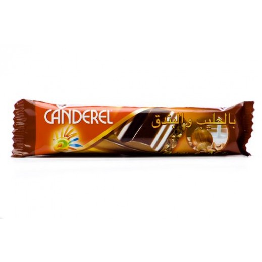 Canderel Milk and Nuts Chocolate 27 g