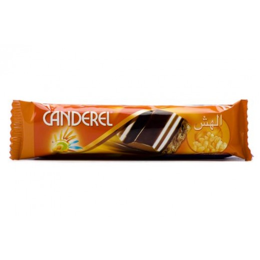 Canderel Milk Chocolate Rice Crispy 27 g