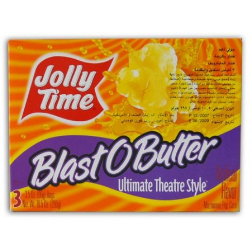Jolly Time Blast O Butter Microwave Pop Corn 298 g