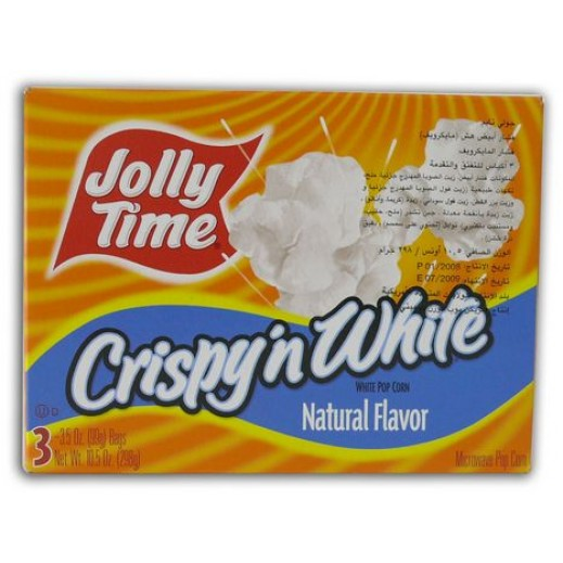 Jolly Time Crispy n White Microwave Pop Corn 298 g