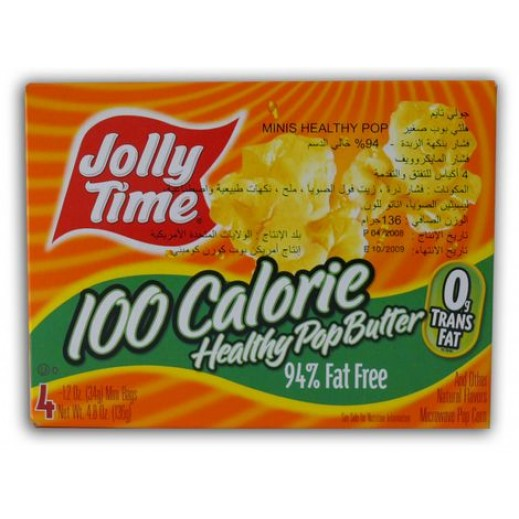 Jolly Time Healthy Pop Butter Microwave Pop Corn 255 g