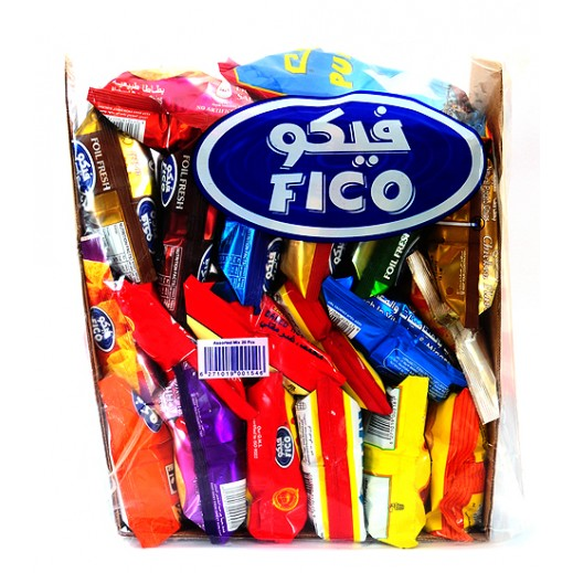 Fico Assorted Chips Bag 20 pieces