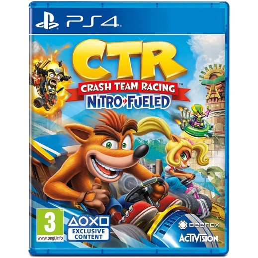Crash Team Racing Nitro-Fueled for PS4 – PAL