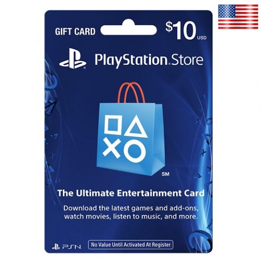 $10 Playstation Network Card - US