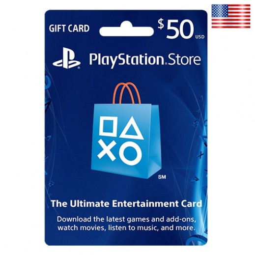 $50 Playstation Network Card - US
