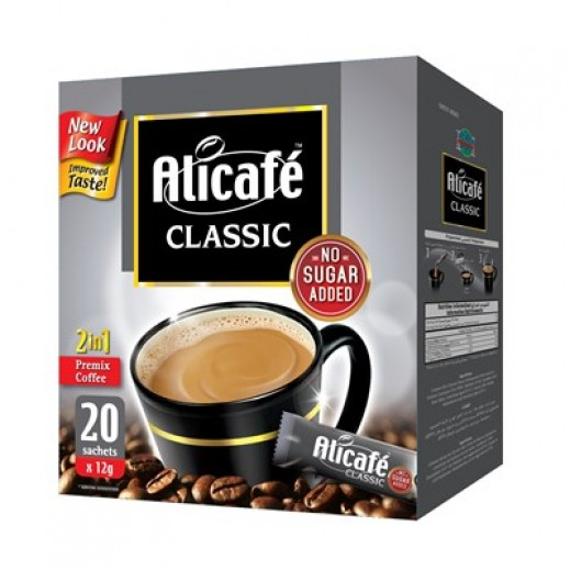Ali Café 2 In 1 Classic Coffee 20x12 g