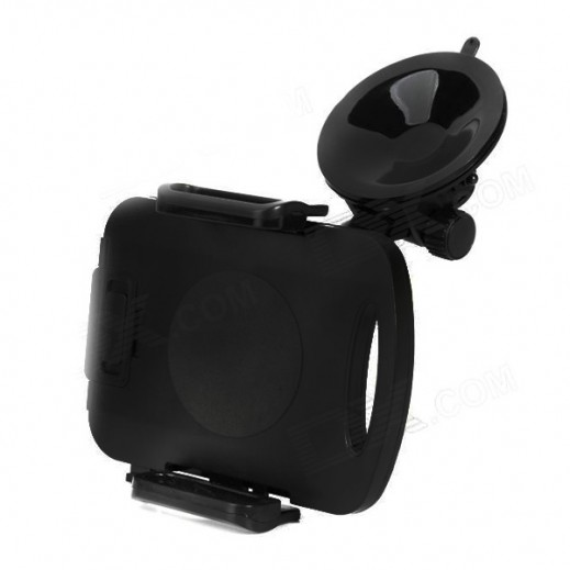 Car Holder For Mobiles,Tablets & iPad Mini - Black