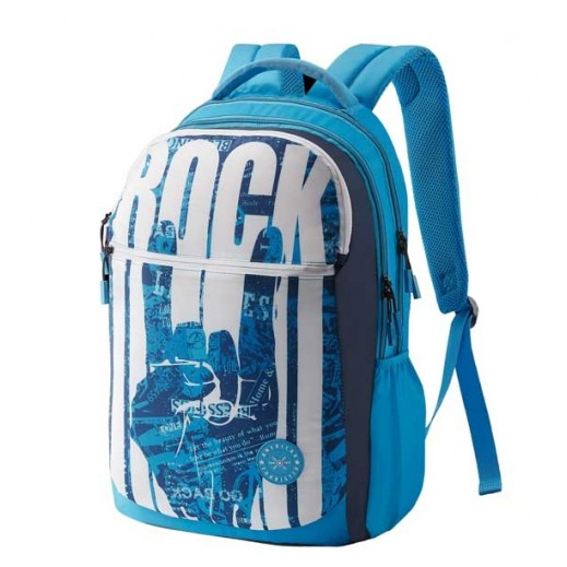 American Tourister Quad 01 Backpack Blue