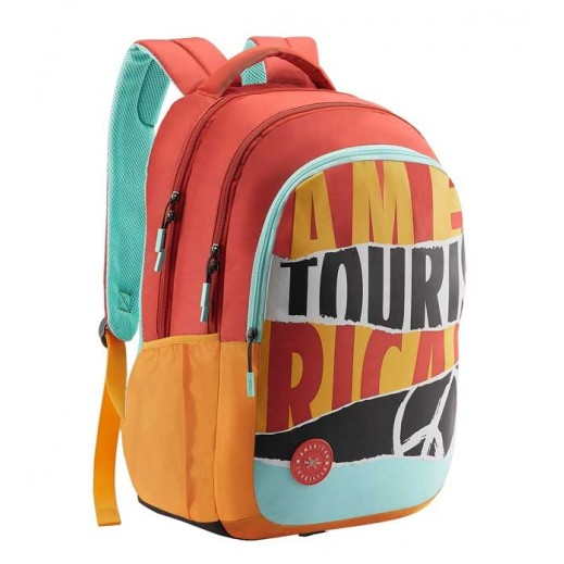 American Tourister Quad 03 Backpack Coral
