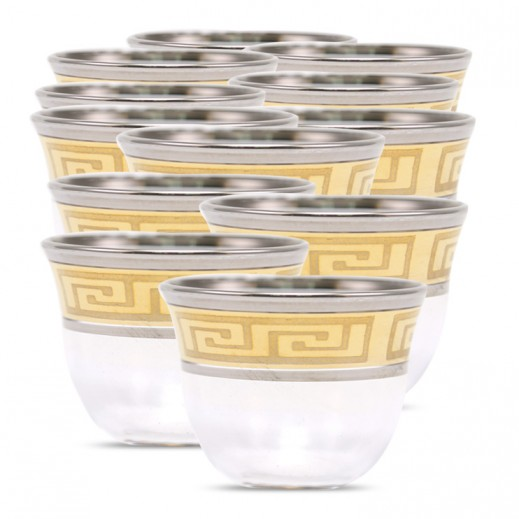 Altincam Crystel Gawa Cup - 12 Pieces