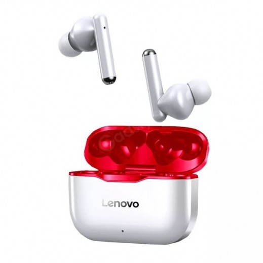 Lenovo Wireless Livepods with Charging Case - White