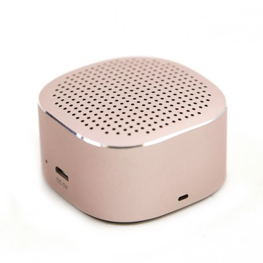 WK Design Bluetooth Speaker – Rose gold