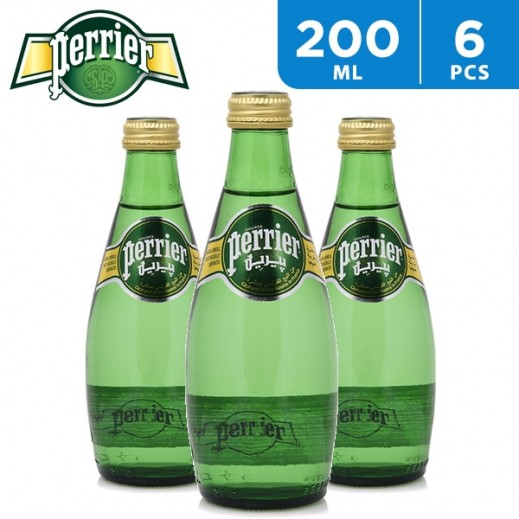 Perrier Mineral Water Classic (6x200 ml)