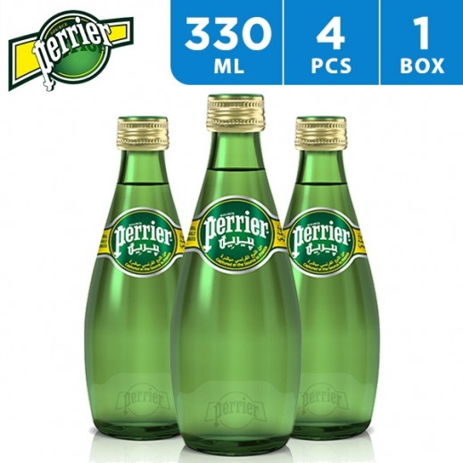 Perrier Mineral Water Natural 4 x 330 ml