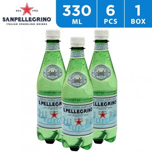 San Pellegrino Sparkling Water Pet Bottle 6 x 330 ml