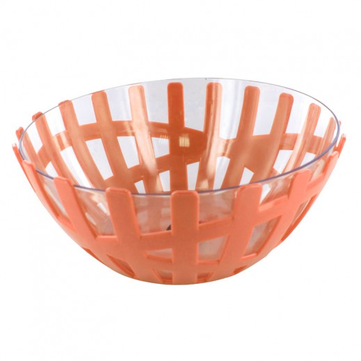 Fruit Bowl with Glass Big Orange