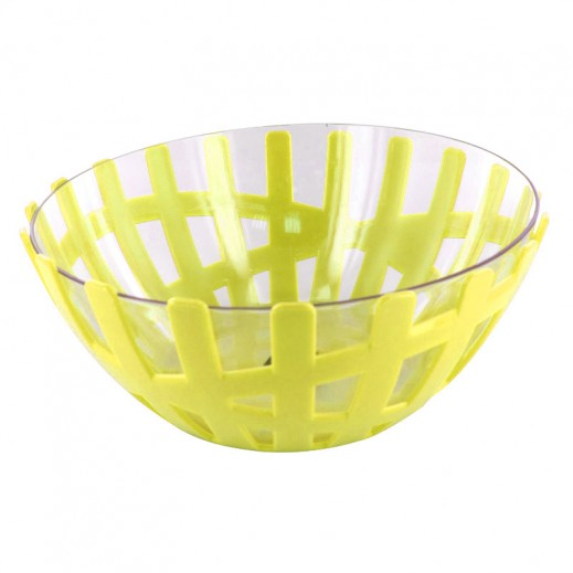 Fruit Bowl with Glass Big Lime
