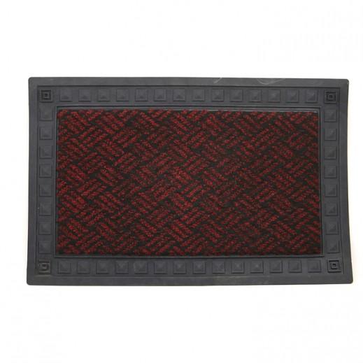 Italian Door Mat (40 x 60 cm)- Maroon