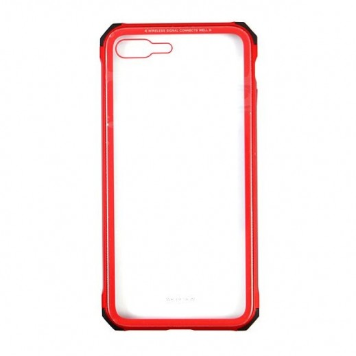WK Design Tikin Glass Case for iPhone 7/8 Plus - Red