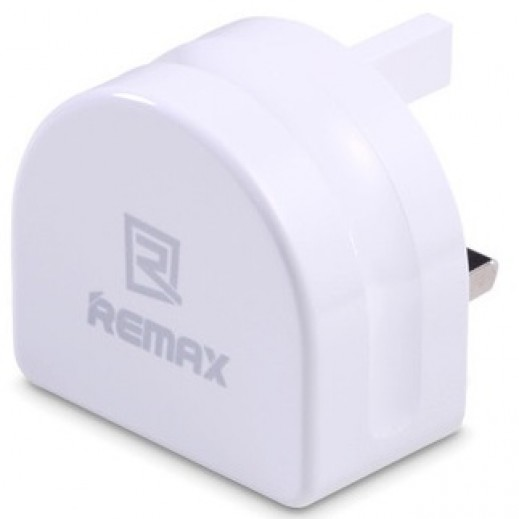 Remax Home Charger 2.1A 2 Ports USB White RMT7188