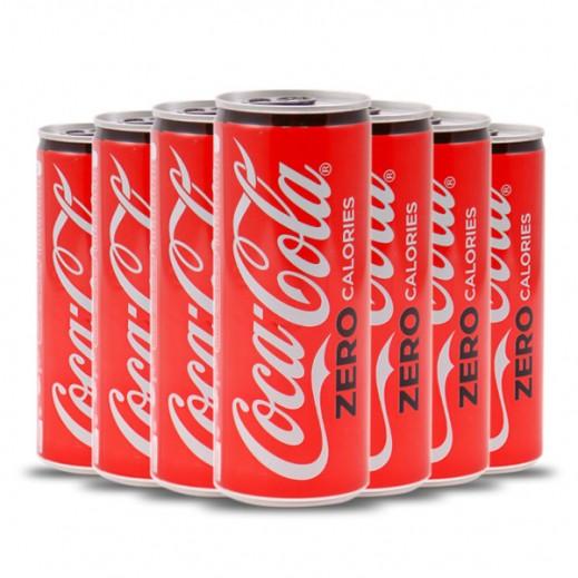 Coca Cola Zero Sugar Can Carton 30 x 250 ml