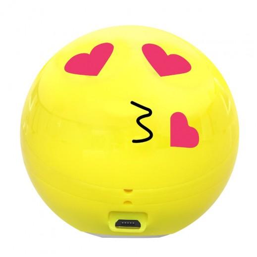 Promate Romanji Bluetooth Emoji Speaker – Yellow