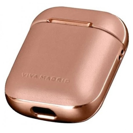 Viva Madrid Airex Leather Case for Airpods - Rose Gold