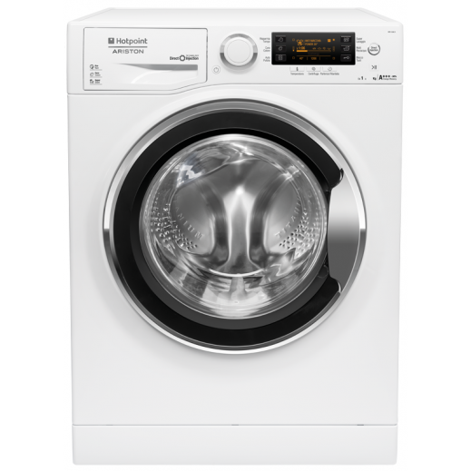 Ariston 8 Kg Front Load Washing Machine – White - delivered by AL ANDALUS After 3 Working Days
