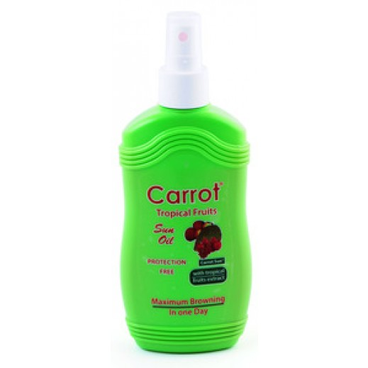 Carrot Tanning Oil Tropical Fruits 200 ml