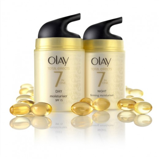 Olay Total Effects 7 In One Day+Night Moisturiser 2x50 ml (20% off) Prom