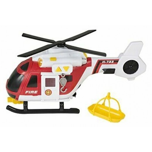 Teamsterz Light & Sound Fire Helicopter