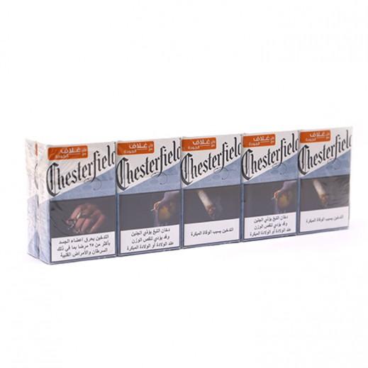Chesterfield Silver Box Cigarettes (Ctn)