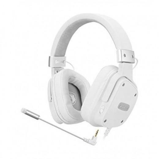 Sades Snowwolf Gaming Headset - White