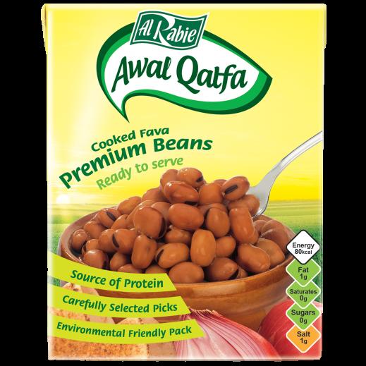Al Rabie Awal Qatfa Cooked Fava Premium Beans 380 g