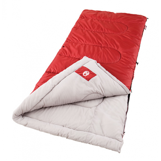 Coleman Palmetto Sleeping Bag (Maroon) 83 cm x 190.5 cm
