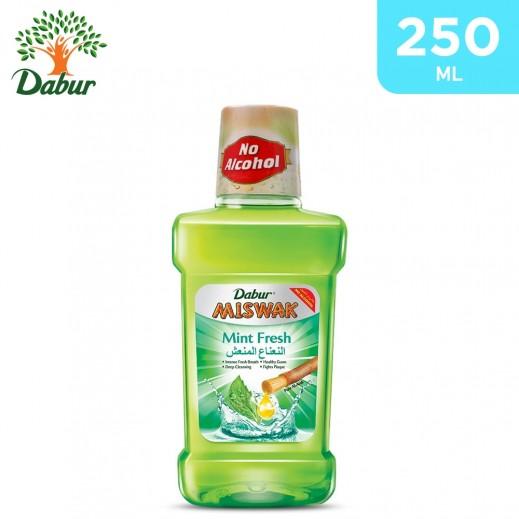 Dabur Miswak Mint Fresh Mouth Wash 250 ml