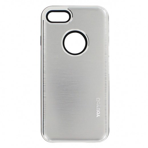 YouYou Back cover Case For iPhone 7 Silver