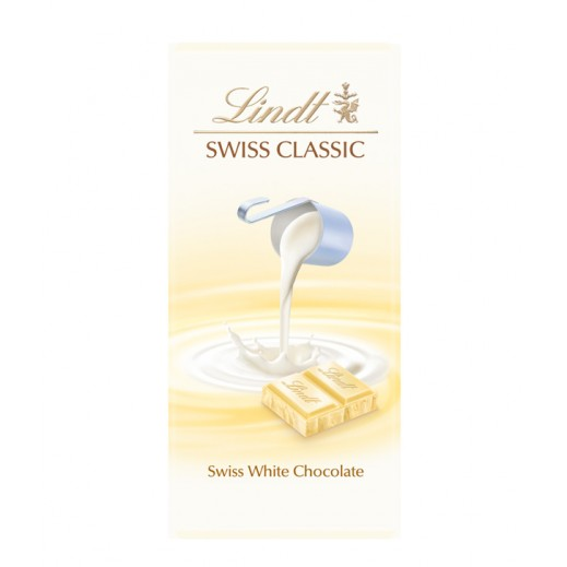 Lindt Swiss Classic White Chocolate 100g