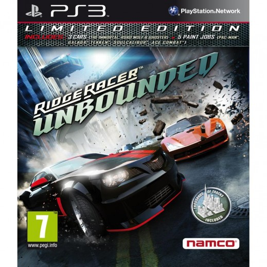 Namco Ridge Racer Unbounded Game For PS3 - NTSC
