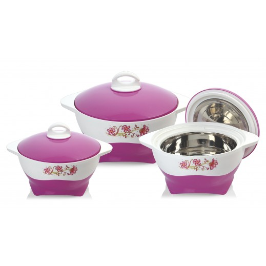 Selfie Hotpot Set Magenta - 3 Pieces