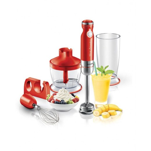 Sencor Hand Blender 800W Red