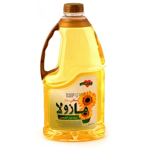 Mazolla Sunflower Oil 1.8 ltr
